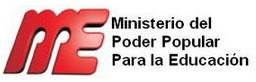 Ministerio del Poder Popular para laEducacion